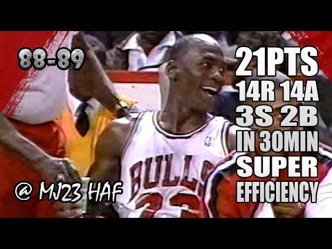 Michael Jordan Highlights Vs Pacers (1989.03.13) - 21p, 14r, 14a, Super Quick Triple-Double!