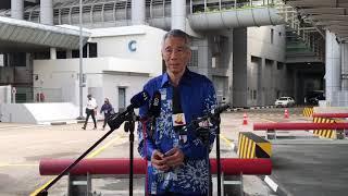 李总理:希望进行新马领导人会面 深入讨论新隆高铁等合作 - YouTube