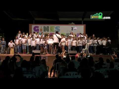 Mas de 400 niños y niñas en el Festival de Coros Escolares de Gines, que llenó el Parque
