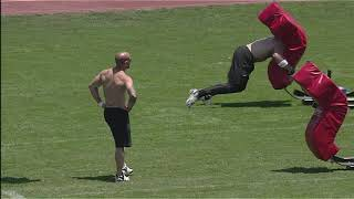2012 CrossFit Games - Sprint/Rope-Sled: Men, Heat 4