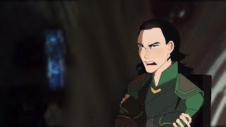Peter Parker Meets Loki