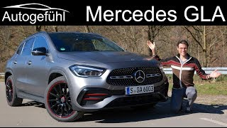 all-new Mercedes GLA 250 FULL REVIEW 2021 2020 - now more SUV than crossover?  Autogefühl
