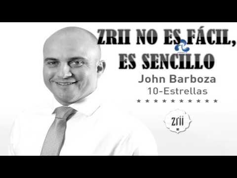 ZRII NO ES FÁCIL, ES SENCILLO - JOHN BARBOZA