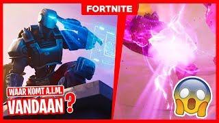 DID THE A.I.M. SKIN OUT OF THE CUBE? -Fortnite theory