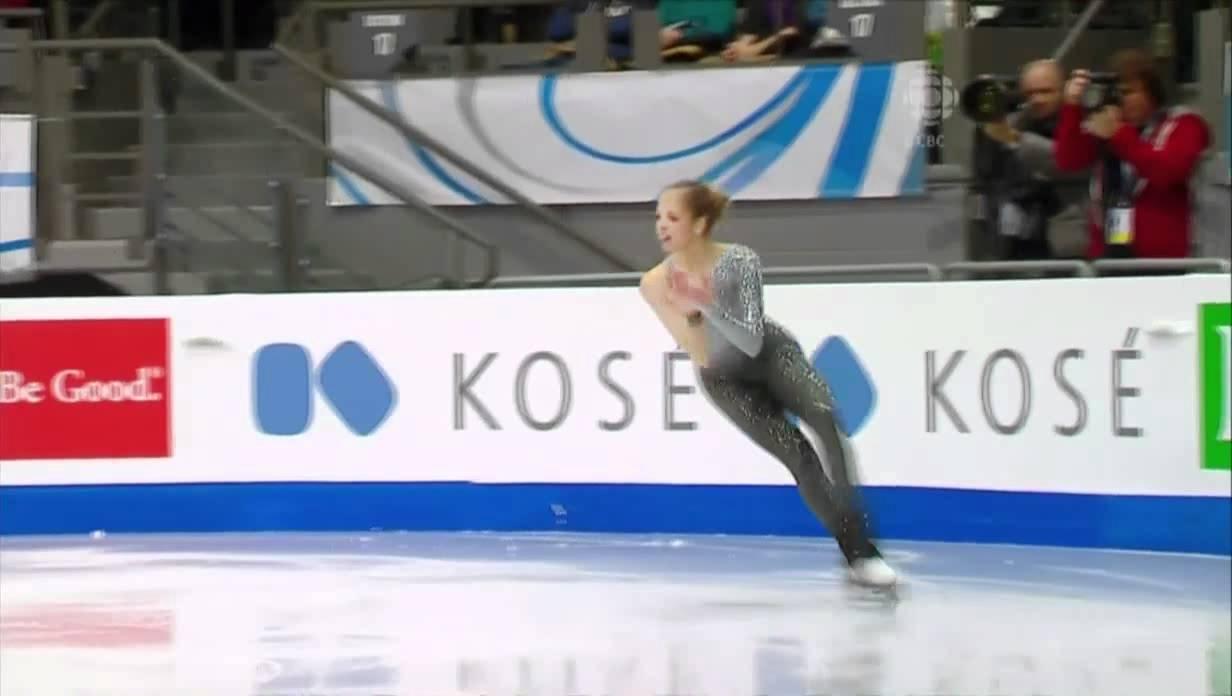 2017 E Carolina Kostner FS ESP - YouTube