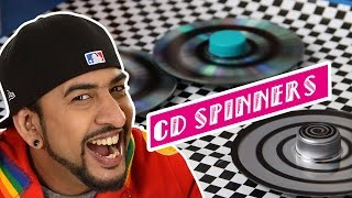 How To Make DIY CD Spinners | Earth Day Special