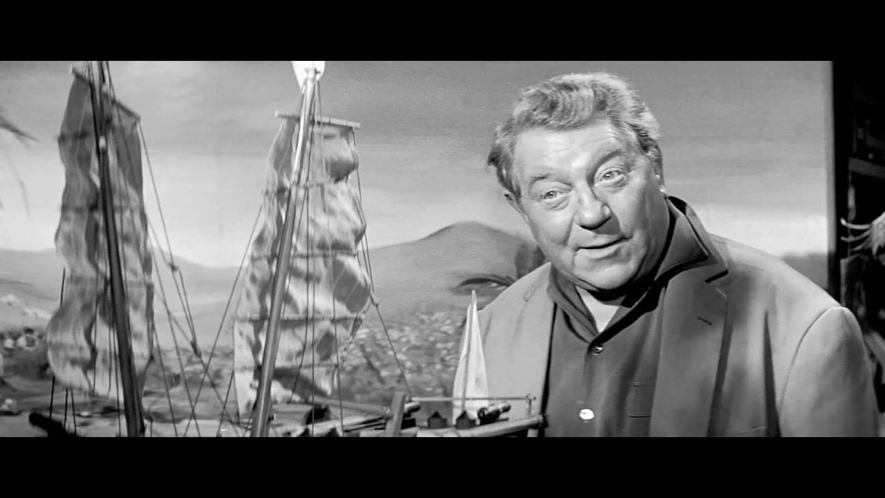 """""""Un Reve Qui Se Jette Dans La Mer"""" Extrait Du Film Un Singe En Hiver D'henry Verneuil"""