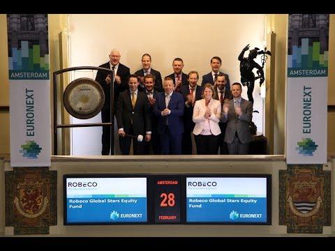 Robeco Global Stars Fund celebrates 80 years on the stock exchange