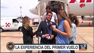 Buen día Uruguay - La experiencia del primer vuelo de Noviembre de 2017