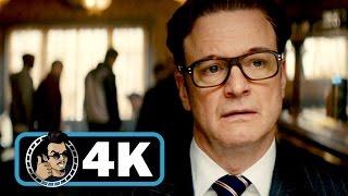 KINGSMAN: THE SECRET SERVICE Movie Clip - Bar Fight |4K ULTRA HD| Colin Firth Action 2014