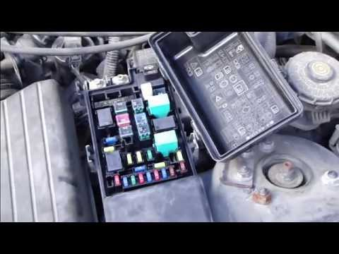 2003 Honda Crv Parts Diagram Wiring Guitar 5 Way Switch How To Change Fuses Accord And Fix Light Fuse Error. Years 2007. - Youtube