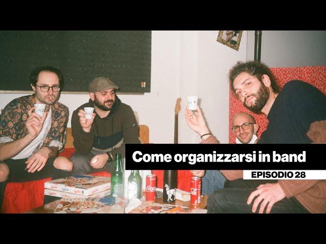 Come organizzarsi in band - Weekly vlog + drum cover [DENTRO LA BAND #28]