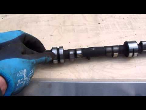 How to check and notice bad camshaft
