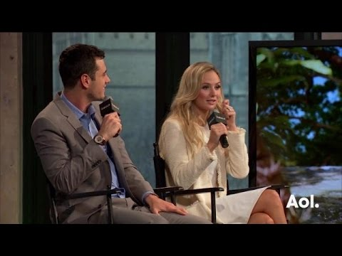 "Ben Higgins and Lauren Bushnell On ""The Bachelor"" 