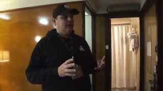 HD Queen Mary Deluxe King Room Cabin Walk-through Review February 28 2015
