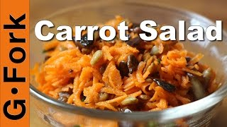 Carrot Salad Recipe With Sunflower Seeds - Gardenfork.tv