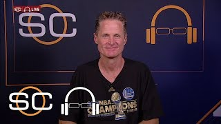 Steve Kerr Says Warriors' Season Took Him Through Hard Times | SC With SVP | June 13, 2017