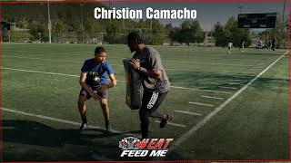 King High School In Coming Freshman DB Christion Camacho Focusing On Pedal Technique