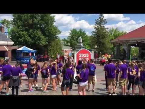 Six Flags New England Walk-thru