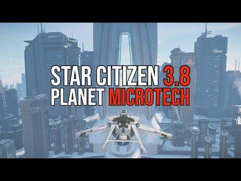 Star Citizen 3.8 PTU Gameplay | Planet microTech a Closer Look!