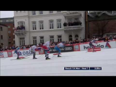 2017 Drammen Classic Sprint Northug Crazy Finish