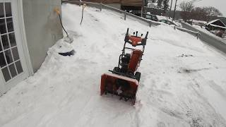 Unboxing & Review: Husqvarna Snow Blowers ST 224P