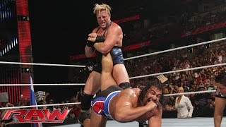Jack Swagger vs. Rusev: Raw, Aug. 25, 2014