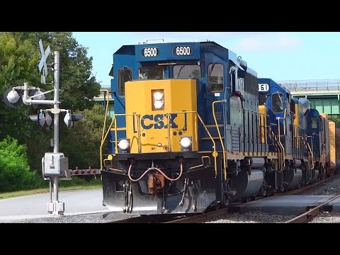 CSX First EMD GP40-3 In Use