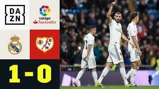 Arbeitssieg! Toni Kroos mit Pfosten-Pech: Real Madrid - Rayo Vallecano 1:0 | LaLiga | Highlights