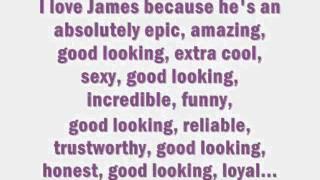 Happy Birthday James!
