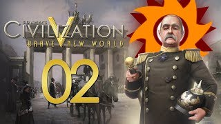 Civilization V Brave New World as Germany - Episode 2 ...Humble Beginnings...