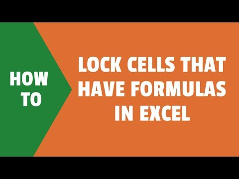 protecting individual cells in excel 2016