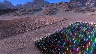 1000 JEDI VS 10000 CHICKENS! (Ultimate Epic Battle Simulator)