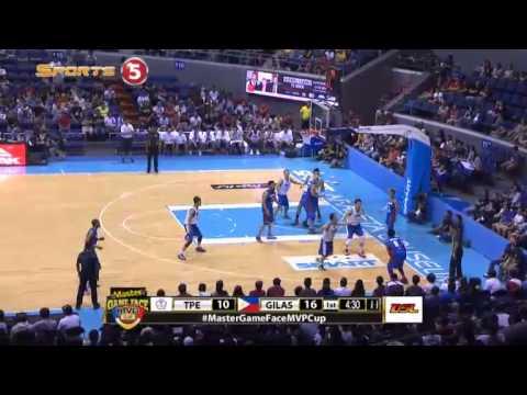 GIlas Pilipinas vs. Chinese Taipei Q1 | MVP CUP 2015