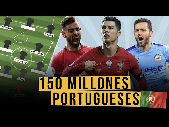 Hacemos un EQUIPO de PORTUGUESES con 150 MILLONES