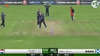 LIVE CRICKET - Scotland Vs Netherlands GS Holdings T20 Tri Series