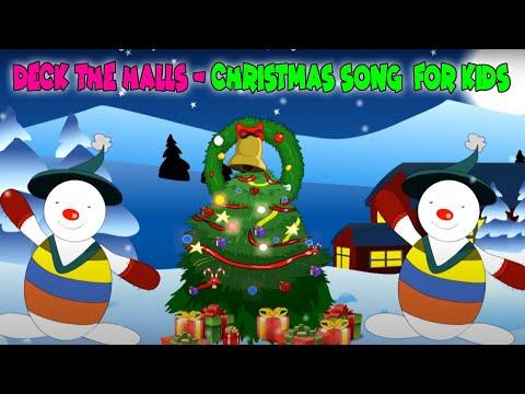 Deck the Halls Christmas Song with lyrics I Christmas Carols | Christmas Songs For Kids - YouTube