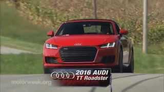 MotorWeek    Road Test: 2016 2016 Audi TT