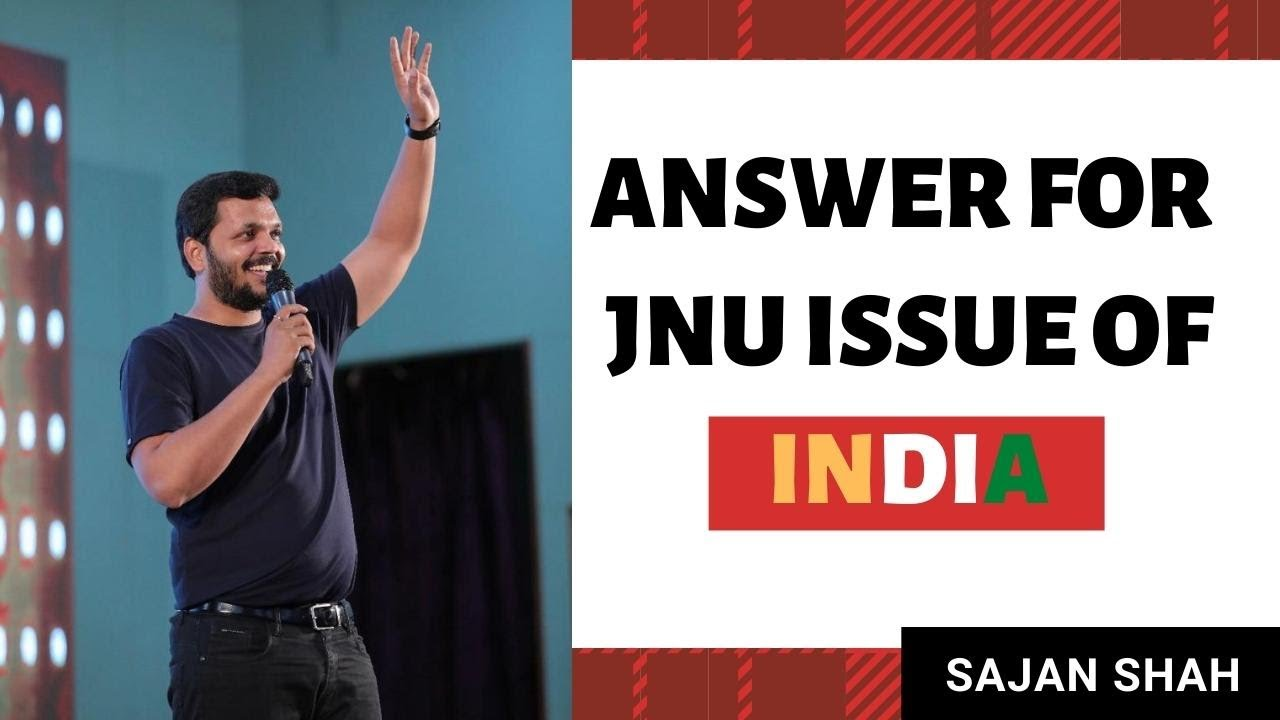 Answer for JNU Issue of India  - Motivational video in Hindi by Sajan Shah