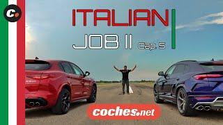 Drag Race Alfa Romeo Stelvio Quadrifoglio vs Lamborghini Urus | coches.net