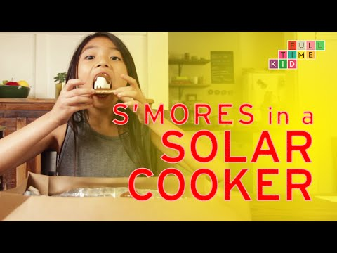 making-s'mores-in-a-solar-cooker-|-full-time-kid-|-pbs-parents