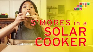 Making S'Mores in a SOLAR COOKER | Full-Time Kid | PBS Parents