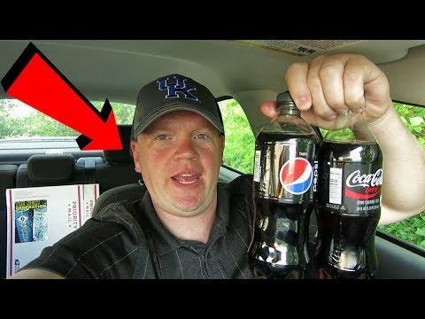 Coke Zero vs Pepsi Max Taste Test