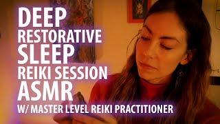 😴 Deep Restorative Sleep Reiki Session, ASMR