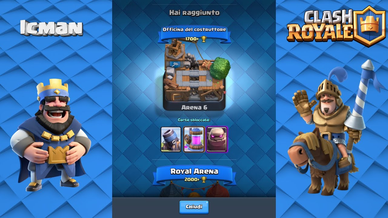 How To Play Clash Royale Arena 1