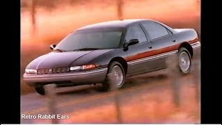1992 Chrysler Concorde TV Commercial