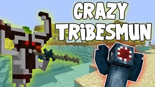 Minecraft - Attack Of The B Team - Crazy Tribesmun!! [74]