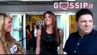 Veronica Ciardi on GossipTV - Estate 2011 - Pupe da botto