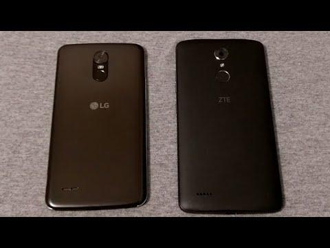 LG Stylo 3 vs ZTE Max XL (Boost Mobile) Comparison