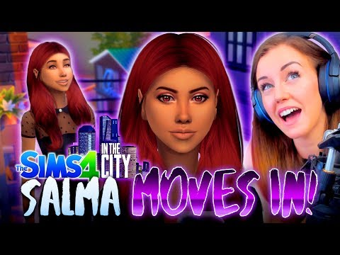 💁SALMA MOVES IN!💑 (The Sims 4 IN THE CITY #1! 🏩)